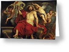 Christ Triumphant Over Sin And Death Greeting Card
