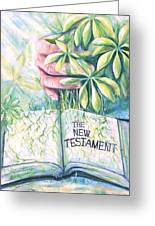 Christian Artist Rooted In The Word Greeting Card