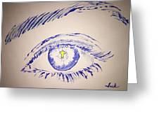 Christian Eye Greeting Card