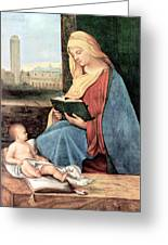 Christianity - Reading Time Greeting Card