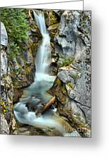 Christine Falls In The Canyon Greeting Card