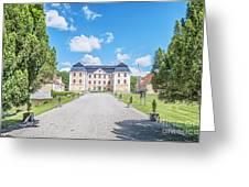 Christinehofs Slott Entrance Greeting Card