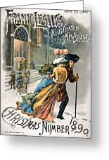 Christmas, 1890 Greeting Card