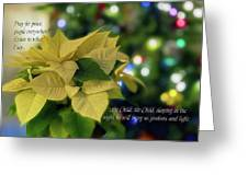 Christmas 3 Greeting Card