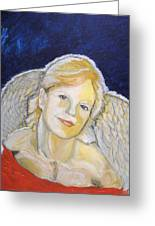Christmas Angel   Finished Greeting Card