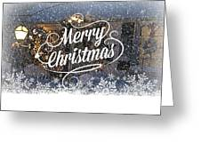 Christmas Blizzard Greeting Card