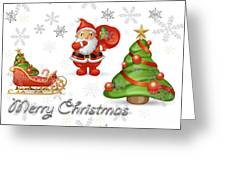 Christmas Card 12 Greeting Card