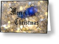 Christmas Card Design Merry Christmas Greeting Card by Karen Musick