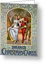 Christmas Cards, C1886 Greeting Card