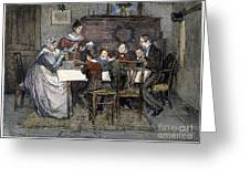 Christmas Carol Greeting Card