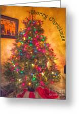 Christmas Corner Greeting Card