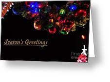 Christmas Decoration Greeting  Greeting Card