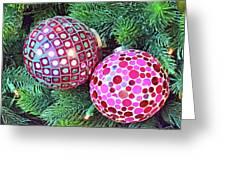 Christmas Dots No. 1-1 Greeting Card