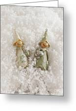 Christmas Elves Greeting Card