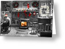 Christmas Eve Magic Greeting Card