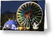 Christmas Fair Scotland Greeting Card