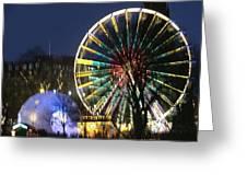 Christmas Fair Scotland Greeting Card