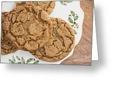 Christmas Gingerbread Cookies Greeting Card