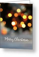 Christmas Glitter- Art By Linda Woods Greeting Card