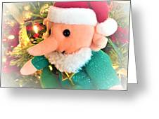 Christmas Imp Toy Greeting Card