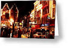 Christmas In Amsterdam Greeting Card