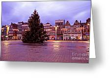 Christmas In Amsterdam The Netherlands Greeting Card