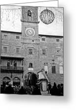 Christmas In Cortona Greeting Card