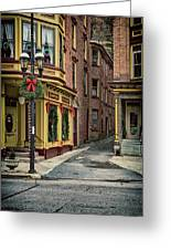 Christmas In Jim Thorpe Greeting Card