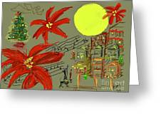 Christmas In The City Greeting Card