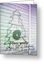Christmas Island Tree Quote Greeting Card