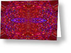 Christmas Light Abstract 3 Greeting Card