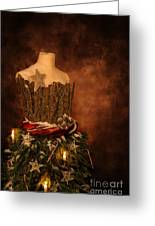 Christmas Mannequin Greeting Card
