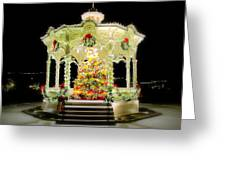 Christmas On The Square Greeting Card