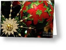 Christmas Ornaments 2 Greeting Card