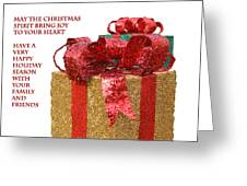 Christmas Packages Greeting Card