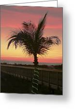 Christmas Palm Greeting Card