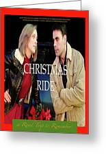 Christmas Ride Poster 16 Greeting Card