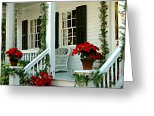 Christmas Spirit In Key West Greeting Card