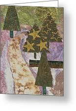 Christmas Stroll Card Greeting Card