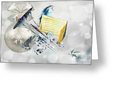Christmas Time Music Greeting Card