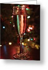 Christmas Toast Greeting Card