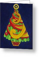 Christmas Tree No. Three Greeting Card