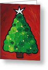 Christmas Tree Twinkle Greeting Card