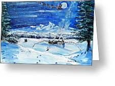 Christmas Wonderland Greeting Card
