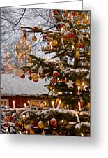 Christmastime At Tivoli Gardens Greeting Card