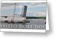 Christo Does Door County Greeting Card