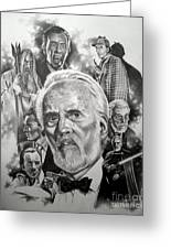 Christopher Lee Greeting Card