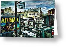 Christopher Street Greenwich Village  Greeting Card
