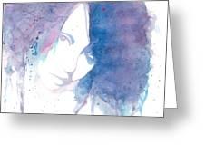 Chromatic Girl Greeting Card