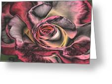 Chrome Rose 368 Greeting Card by Brian Gryphon